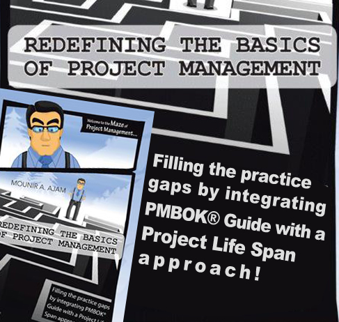 Redefining the Basics of Project Management - Book by Mounir A. Ajam