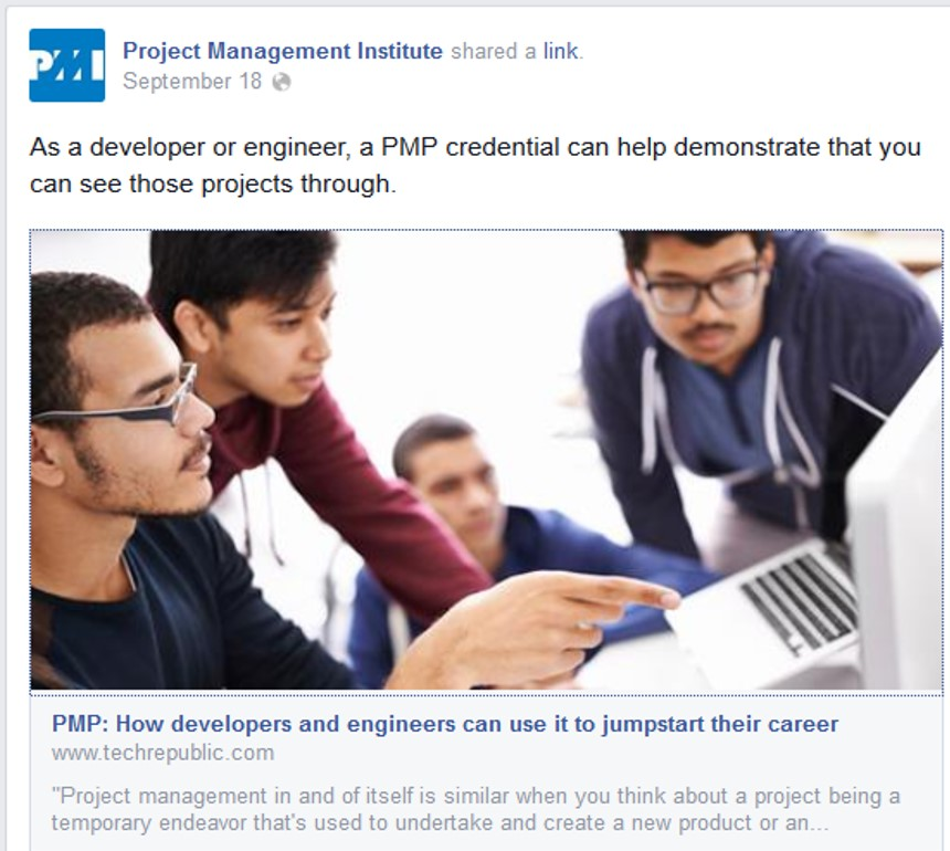 PMP: How developers and engineers can use it to jumpstart their career