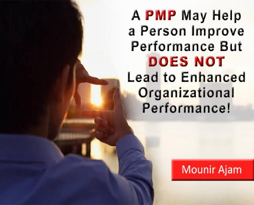 PMP and Organizational Performance